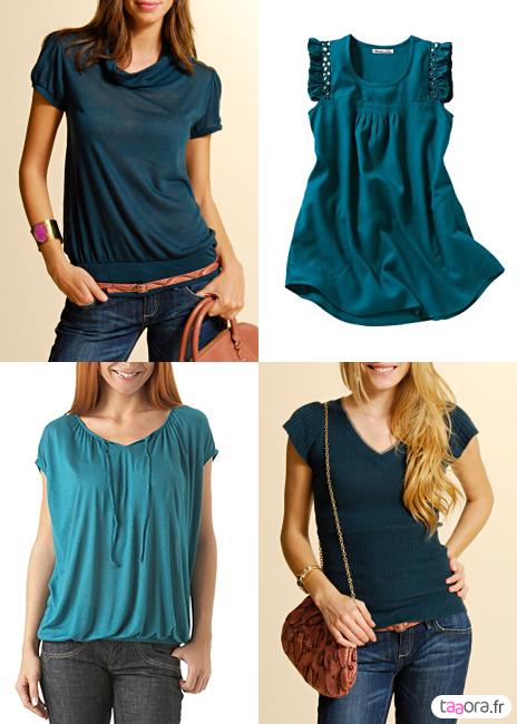 Mode la mode d aujourdhui - Bleu canard avec quelle couleur vetement ...